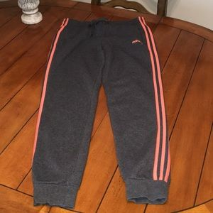Adidas women's sweats with jogger style ankle M